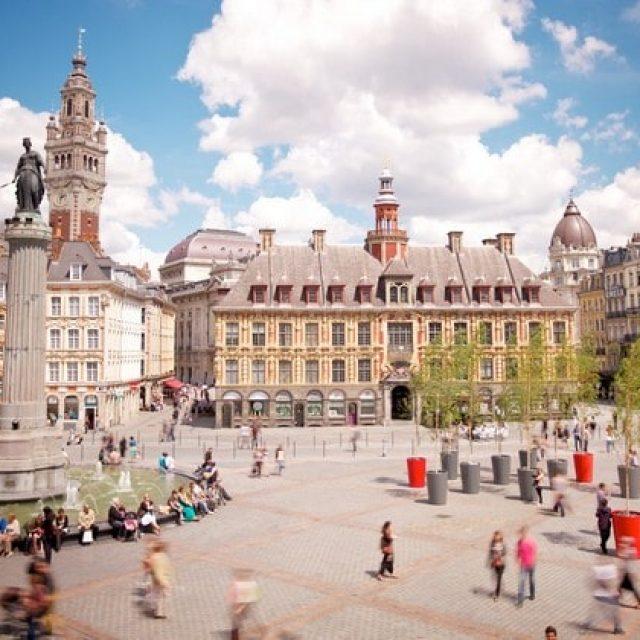 Vieux Lille et sa place principale