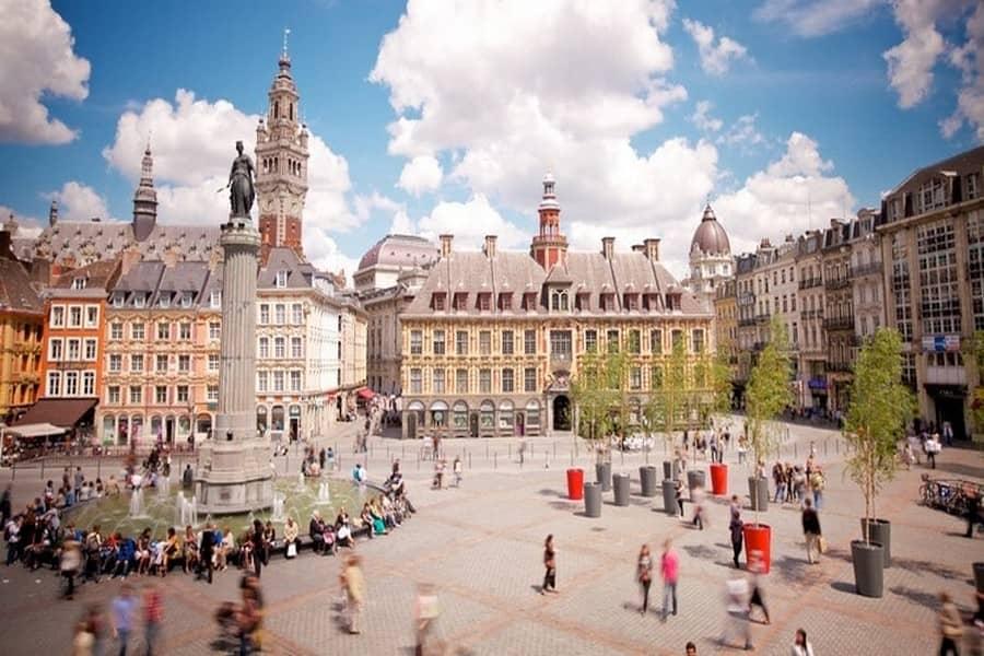 Grand'Place: Place principale Lille